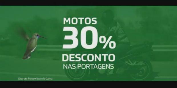 Via Verde oferece desconto a motociclistas