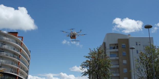 CTT testam entregas com drones
