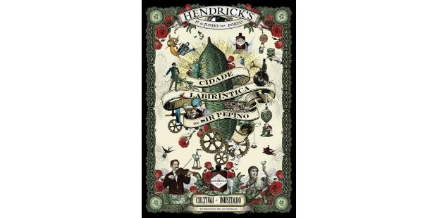 Hendrick's celebra Dia Mundial do Pepino
