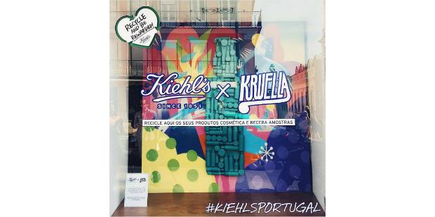 Kiehl's em projecto de arte com Kruella D'Enfer