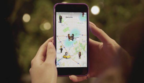 Snapchat lança mapa com localização dos utilizadores