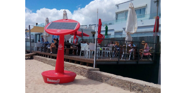Quer ter Wi-Fi na praia? A Buondi oferece