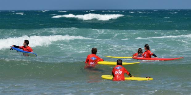 EDP oferece mil aulas de surf