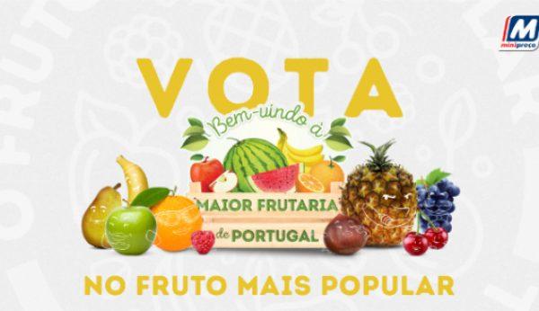 Minipreço quer saber qual é o fruto mais popular
