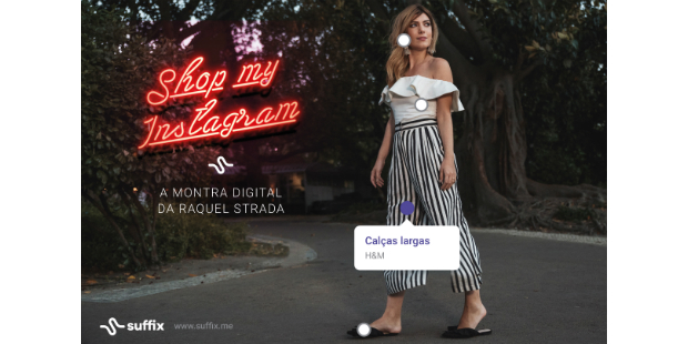 Instagram de Raquel Strada é montra digital
