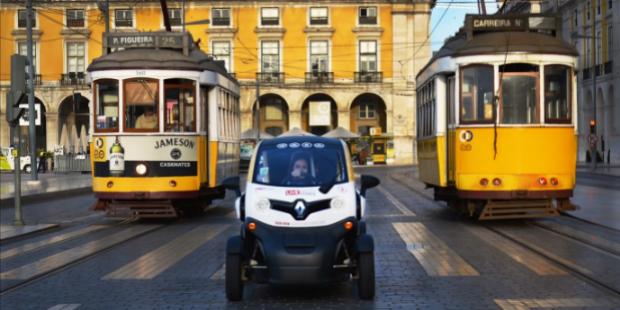 Live tours em carros eléctricos chegam a Lisboa