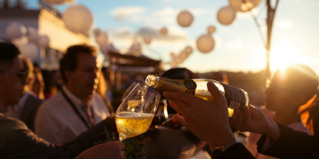 Sunset Wine Party do The Yeatman tem novas datas