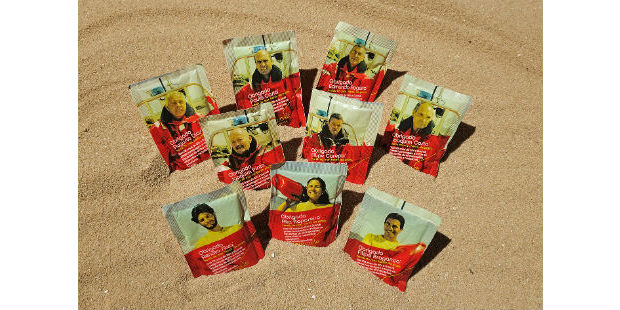 Buondi homenageia nadadores salvadores