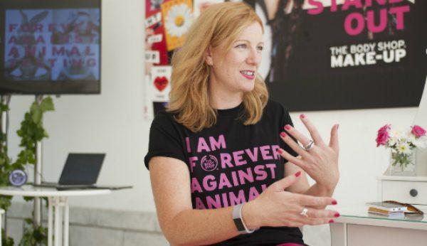 The Body Shop quer ter um impacto positivo