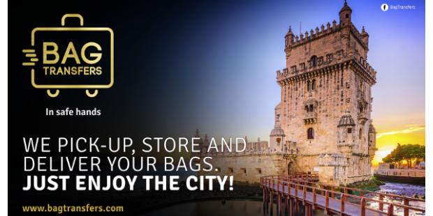 BagTransfers recolhe e entrega bagagens em Lisboa