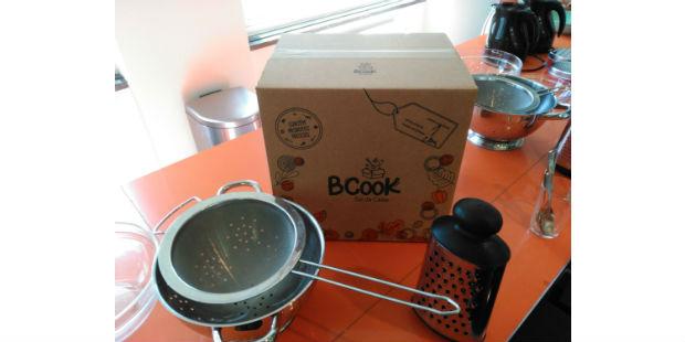 BCook entrega alimentos frescos em casa