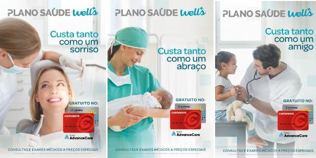 Well's relembra gratuitidade do plano de saúde