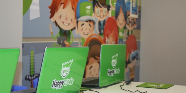 Happy Code é sinónimo de programação para crianças
