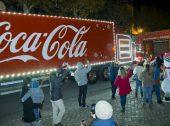 Camião da Coca-Cola visita a Lapónia pela primeira vez