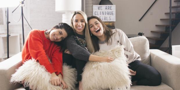 Clinique rejuvenesce marca com youtubers