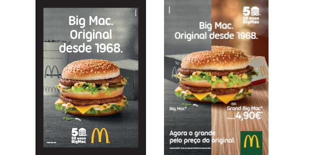 McDonald's celebra 50 anos do Big Mac
