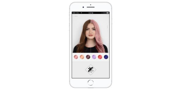 App da L'Oréal permite testar tons de cabelo
