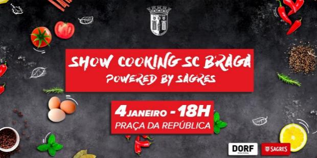 Sagres patrocina showcooking do SC Braga