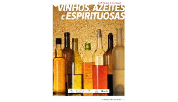 Vinhos, azeites e espirituosas