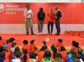 Continente vai às escolas falar sobre alimentação