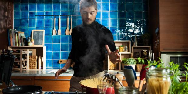 Lourenço Ortigão cozinha com a Pescanova