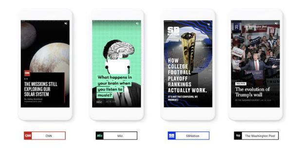 Google também vai ter Stories nos resultados de pesquisa