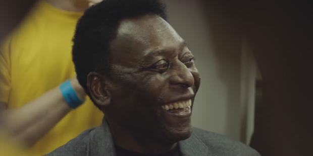 Mastercard e Pelé mostram poder unificador do futebol