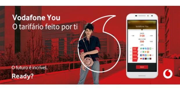 Vodafone lança tarifário personalizável