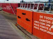 Poemas de Sophia de Mello Breyner decoram Porto de Leixões