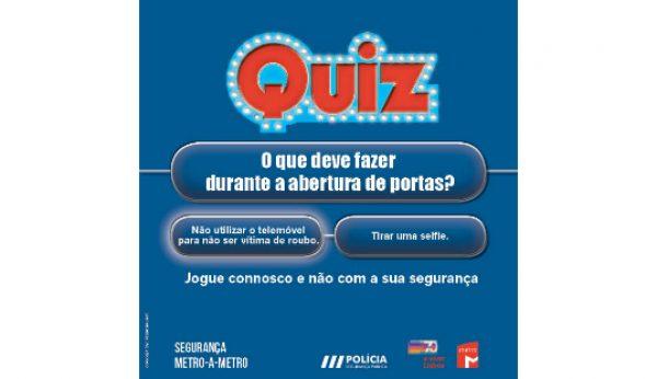 PSP lança campanha com o Metro de Lisboa