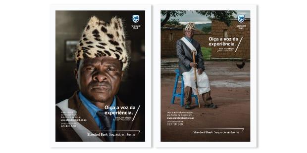 Born assina campanha para banco africano