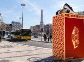 Vans gigantes ocupam Lisboa