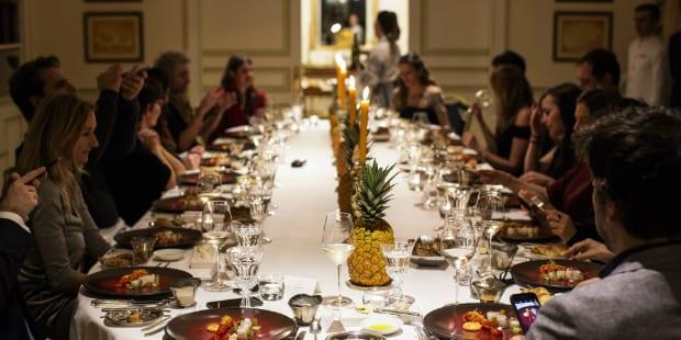 Jantar de Mil e Uma Noites… na suite presidencial do Ritz
