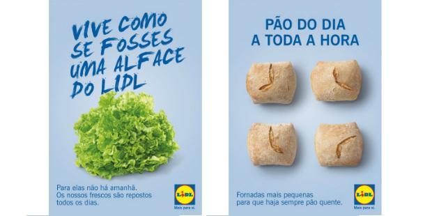 Lidl realça frescura dos alimentos em nova campanha