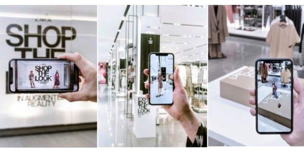 Realidade Aumentada chega à Zara em Portugal
