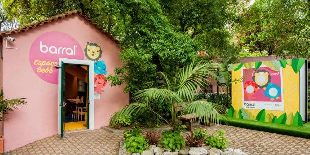 Espaço Bebé Barral chegou ao Jardim Zoológico