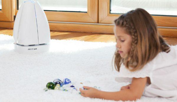 Purificar o ar que as crianças respiram com Airfree