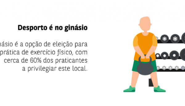 Sabe qual é a opção de eleição dos praticantes de exercício físico?