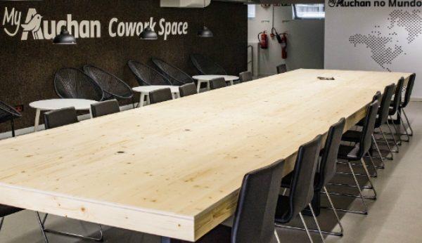 MyAuchan inaugura espaço de cowork de acesso livre