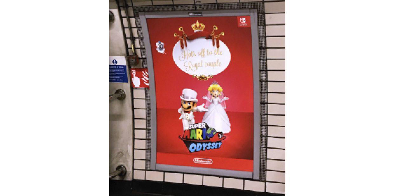 Casamento real inspira campanha da Ray Gun no Reino Unido