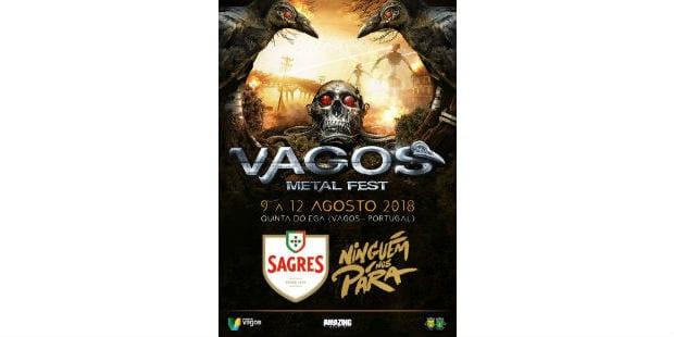 Sagres patrocina Vagos Metal Fest