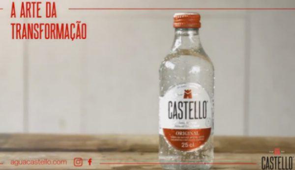 Água Castello aposta em nova imagem mais limpa