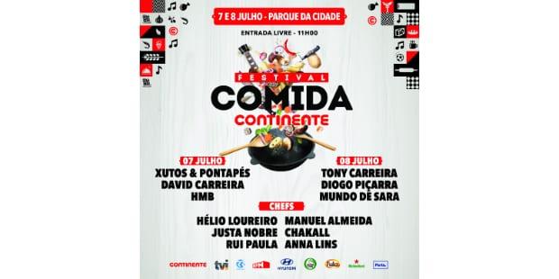 Festival Comida Continente de volta ao Porto