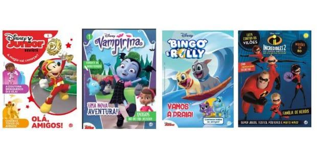 Bancas portuguesas recebem novas revistas Disney