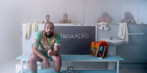 Portugueses campeões de futebol amador dão dicas à Selecção