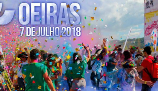 Jamor vai receber The Color Run… com glitter