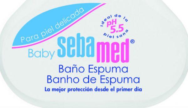Laboratórios LETI apresentam Baby Sebamed Espuma de Banho