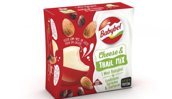 Babybel Cheese & Trail Mix, o novo snack proteico