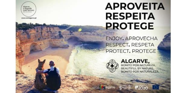 Se está no Algarve, respeite a natureza