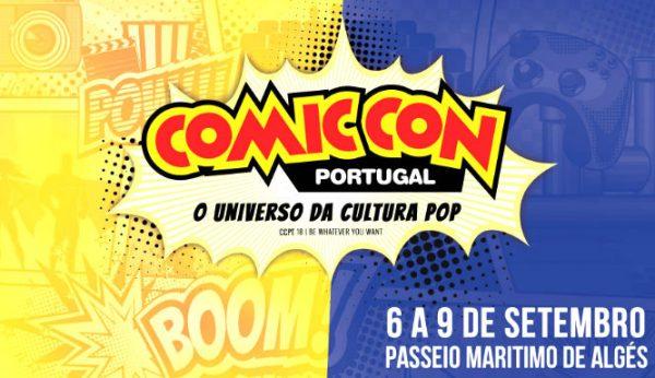 NOS apresenta Comic Con Portugal 2018